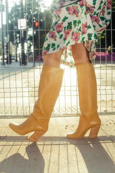 A Détacher Stone Boots - Honey