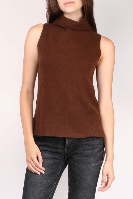 Margaret O'Leary Tish Turtleneck - Coffee