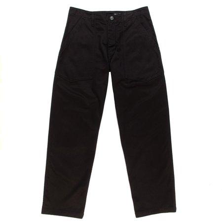 Monitaly Fatigue Pants - Black Vancloth