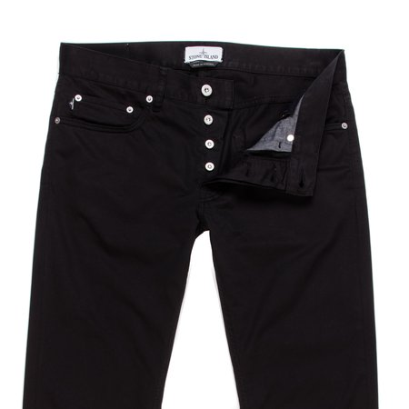Stone Island 5 Pocket Pants - Black