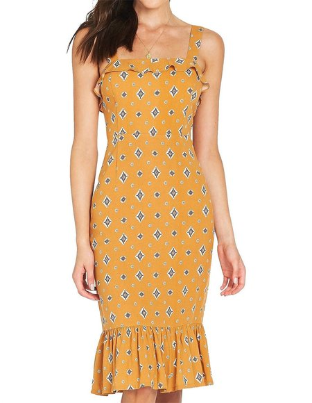 Tigerlily Sadaf Dress - Mustard