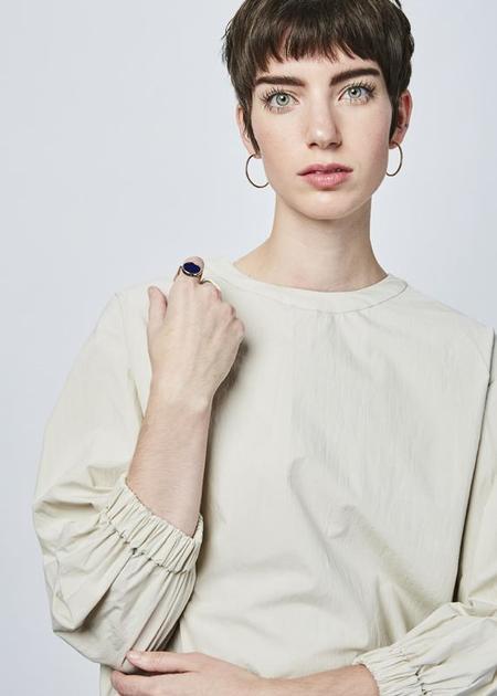 NICO Lola Bubble Top - beige