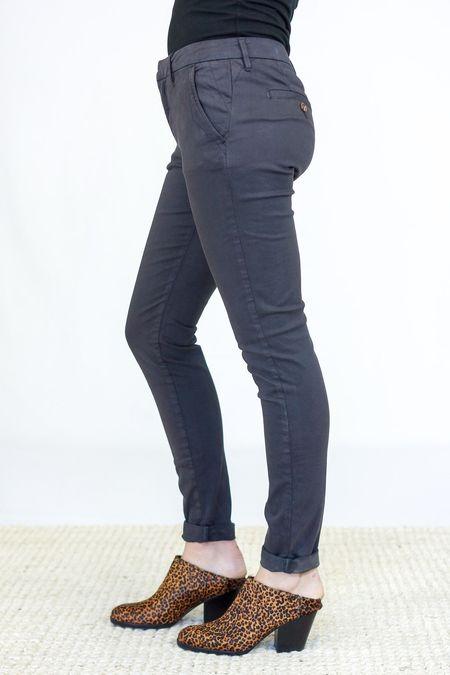Reiko Chino Trousers - Dark Navy