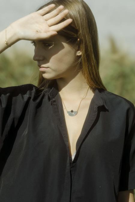 Anne Thomas Cuzco Necklace - Black