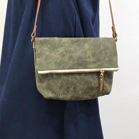 Suzanne Faris Fold Over Bag Small