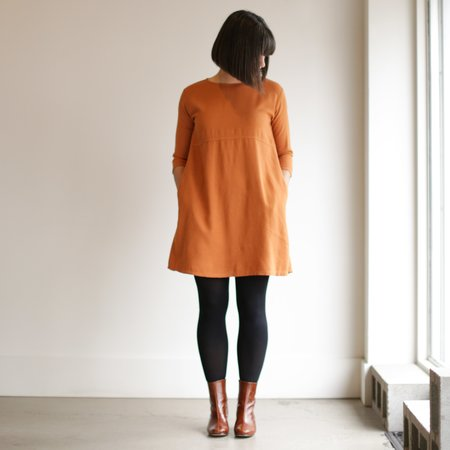 Me and Arrow Basic Dress - Persimmon