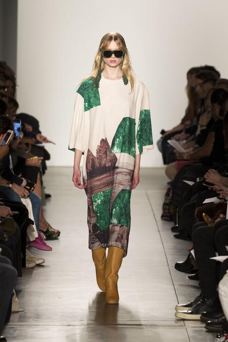 A Détacher Dyta Dress in Rocks Print