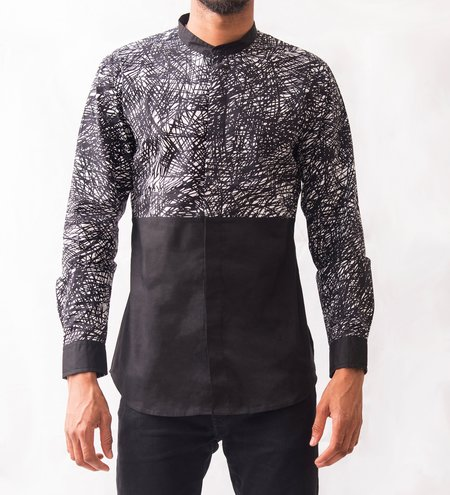 Omenka Patterned Shirt - Abstract