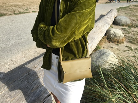 AW by Andrea Wong DBL ENVELOPE PURSE - PISTACHIO