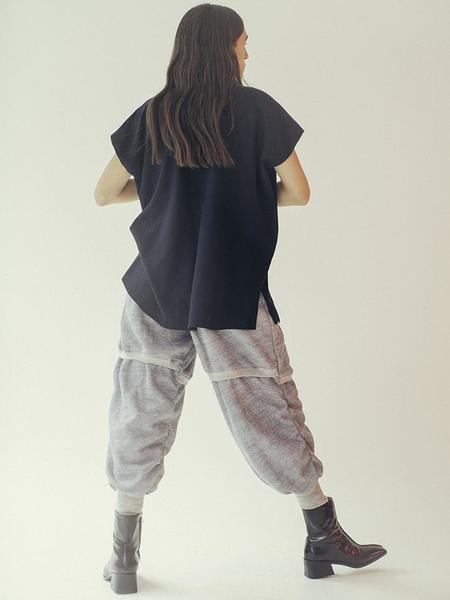 Alexa Stark Sweatpant - Heather Grey
