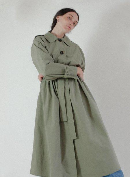 Shaina Mote Uma Trench - Moss Green