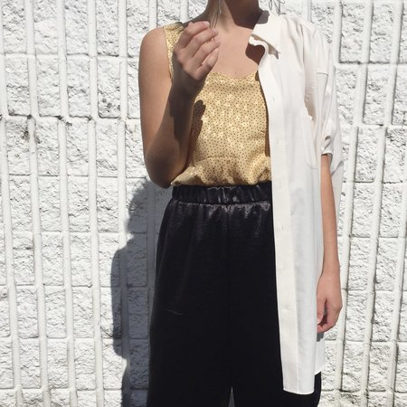 Laurs Kemp Reworked Button-up w/ Cut-Outs