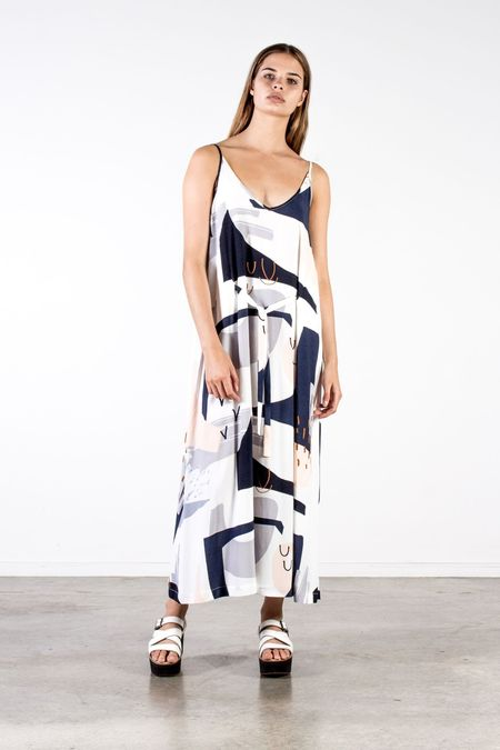 Nyne Tova Tie Dress - Oslo