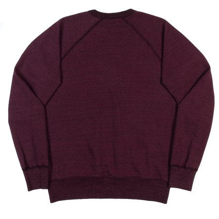 National Athletic Goods Raglan Warm Up SWEATSHIRT - Wine