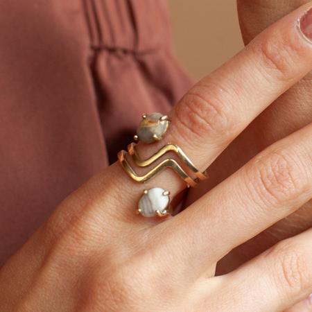 Lindsay Lewis Flipside Ring - BRASS