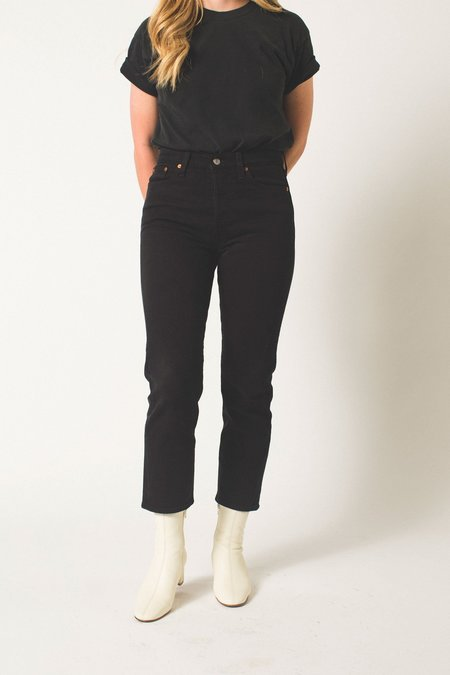 Levi's Wedgie Fit Straight Jeans - Black Heart