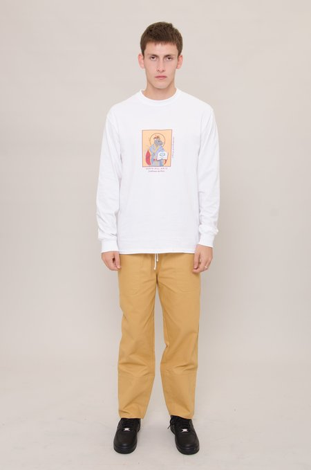 North Hill Long Sleeve Underground Kingz Tee - White