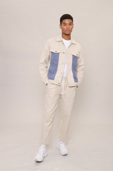 North Hill Denim Jacket - Oyster