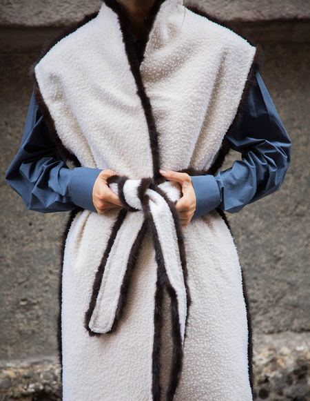 Caftanii Firenze Constance Casentino Wool Coat