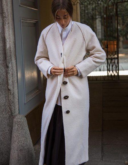 Caftanii Firenze Paoline Casentino Wool Coat