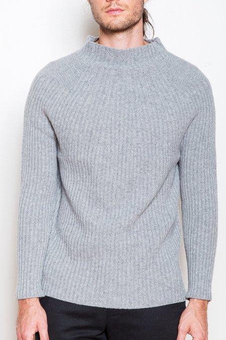 Krammer & Stoudt Merino Wool Sweater - Heather Grey