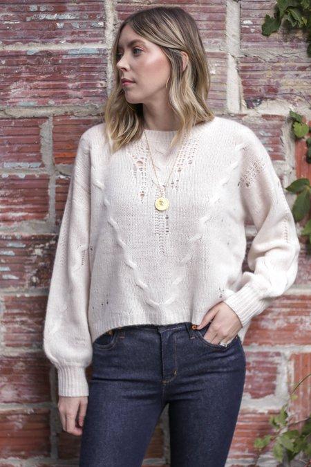 360 Cashmere Lea Romantic Chic Sweater - Lunar