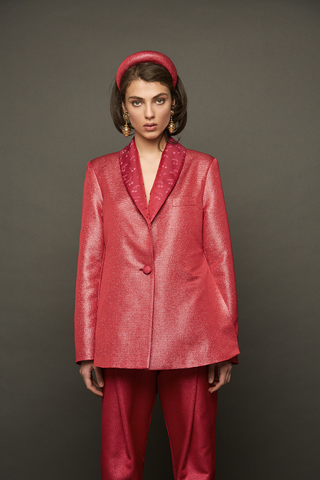 DESERT MANNEQUIN x N-DUO It's almost Christmas suit - PINK