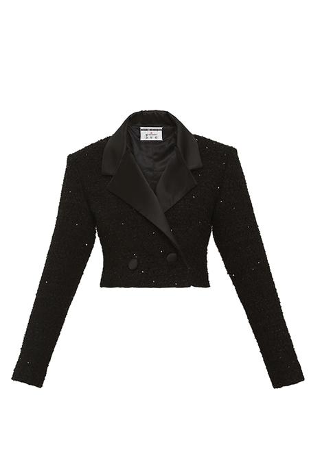 DESERT MANNEQUIN x N-DUO Bolero jacket - BLACK