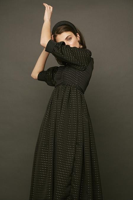 DESERT MANNEQUIN x N-DUO Martha dress - BLACK