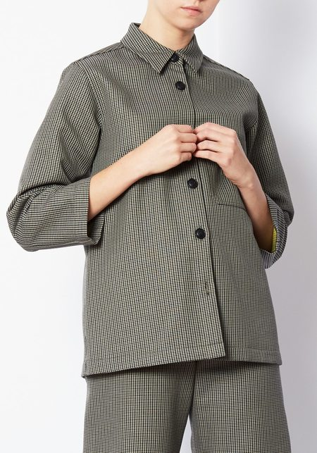 Creatures of Comfort Perry Jacket - Mini Check
