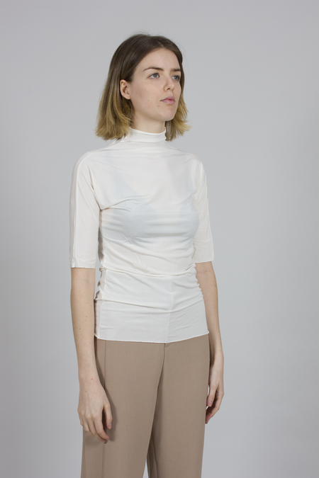 Greyyang High Neck T-shirt - White