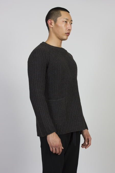 Forme D'expression English Ribbed Jumper - Grey