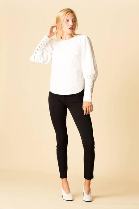 Veronica Beard Clarke Top - White