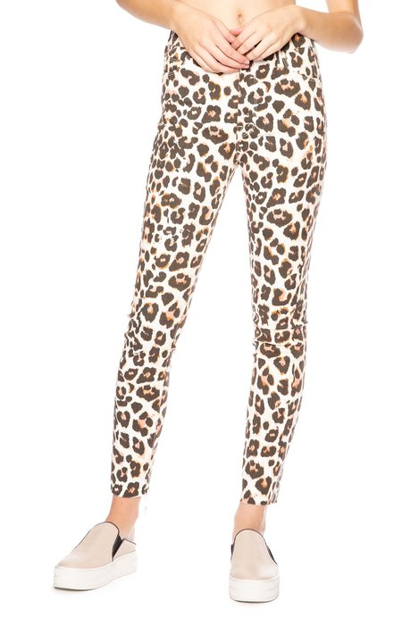 Mother Denim High Waist Looker Ankle Jeans - Touch of the Tiger