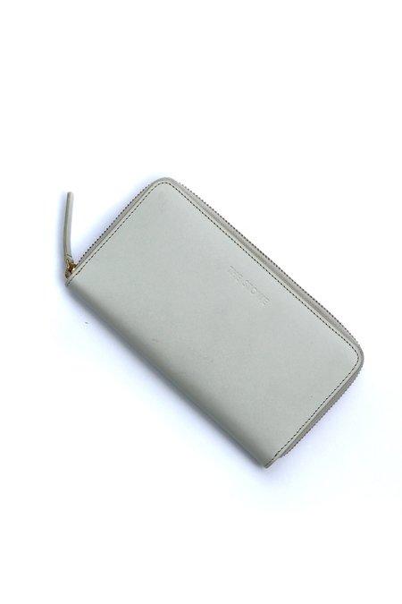 The Stowe Zip Wallet - Clay