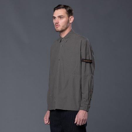 Robert Geller Karol Shirt - Beluga Grey