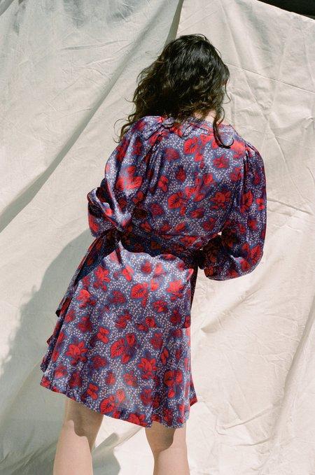 Rodebjer Milia Dress - Deep Sea Blue