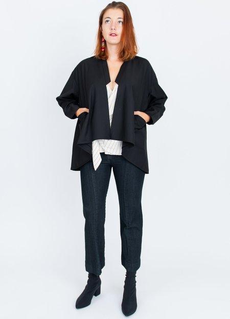 A. Oei Kimono Jacket - black