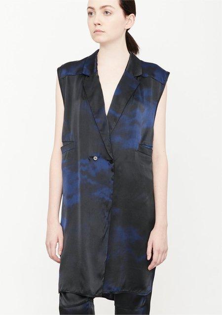 BERENIK VEST/DRESS - BLUE PRINT