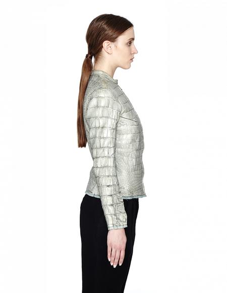 Isaac Sellam Crocodile Leather Jacket