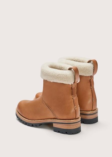 FEIT Shearling Boot - Tan