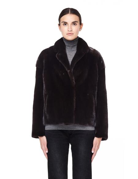 32 Paradis Short Mink Fur Coat - Brown