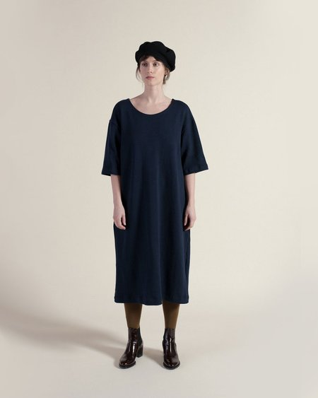 Sunja Link Knit Dress - Navy