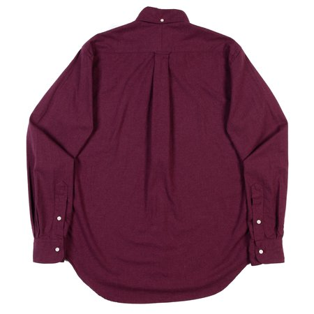 Gitman Vintage Button-Down Shirt - Burgandy Classic Flannel