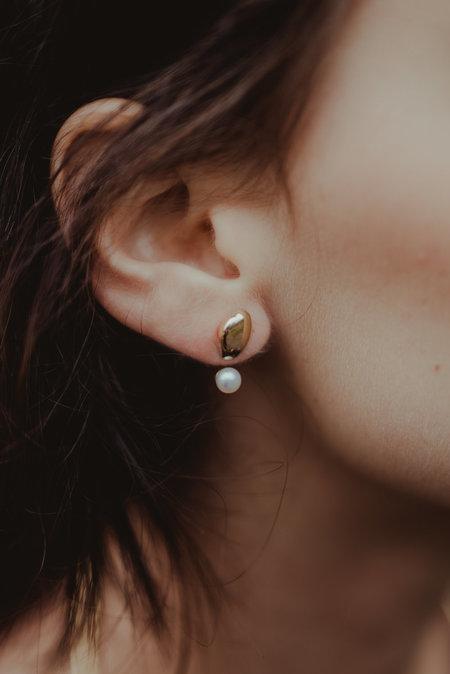 Uni Jewelry Seedpearl Stud Earrings