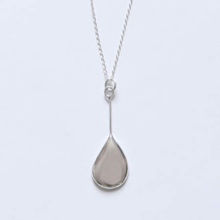 BAR JEWELLERY Melt Necklace - Silver