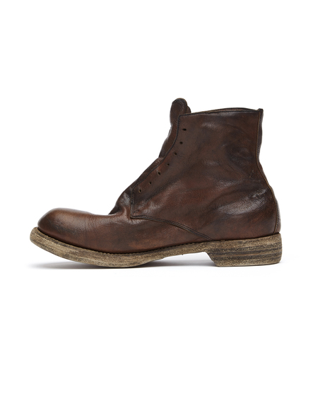 Guidi Laceless Distressed Leather Boots