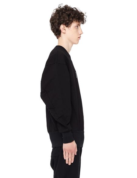 Julius Cotton Sweatshirt - Black