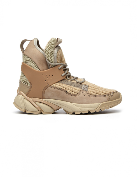 Undercover Vibram Sole High Top Sneakers - Beige