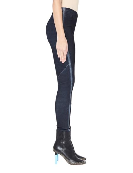 Isaac Sellam Leather Leggings - Navy Blue